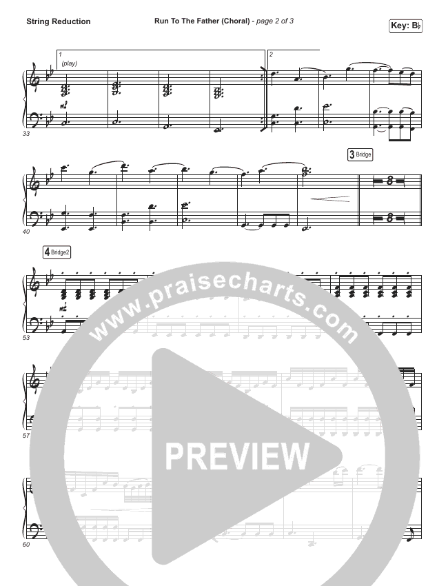 Run To The Father (Choral) String Pack (PraiseCharts Choral / Cody Carnes / Arr. Luke Gambill)