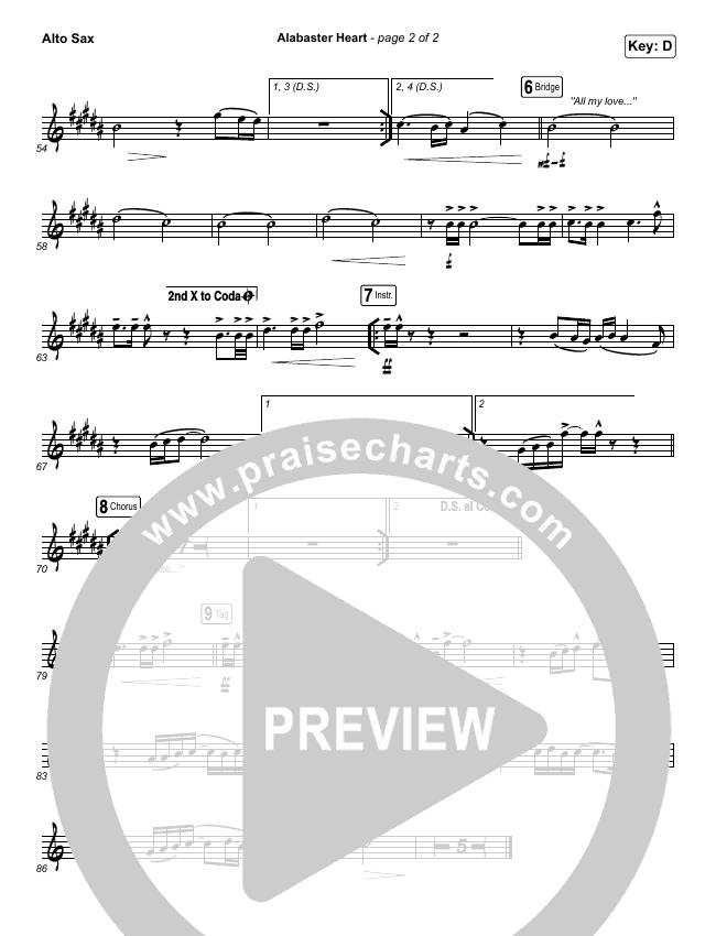 Alabaster Heart (Live) Wind Pack (kalley / Bethel Music)