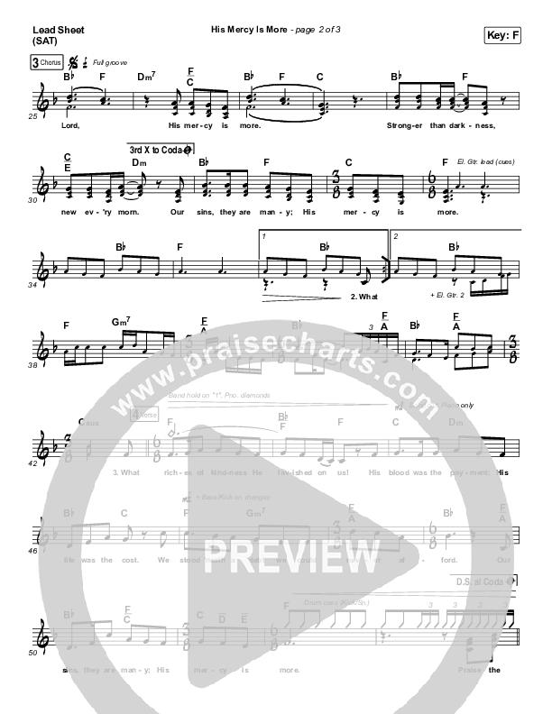 His Mercy Is More Orchestration (Matt Boswell / Matt Papa)