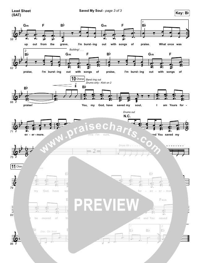 Saved My Soul Orchestration & Finale (CityAlight)