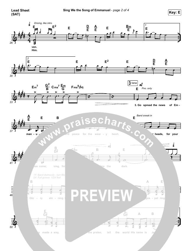 Sing We The Song Of Emmanuel Orchestration & Finale (Matt Boswell / Matt Papa / Keith & Kristyn Getty)