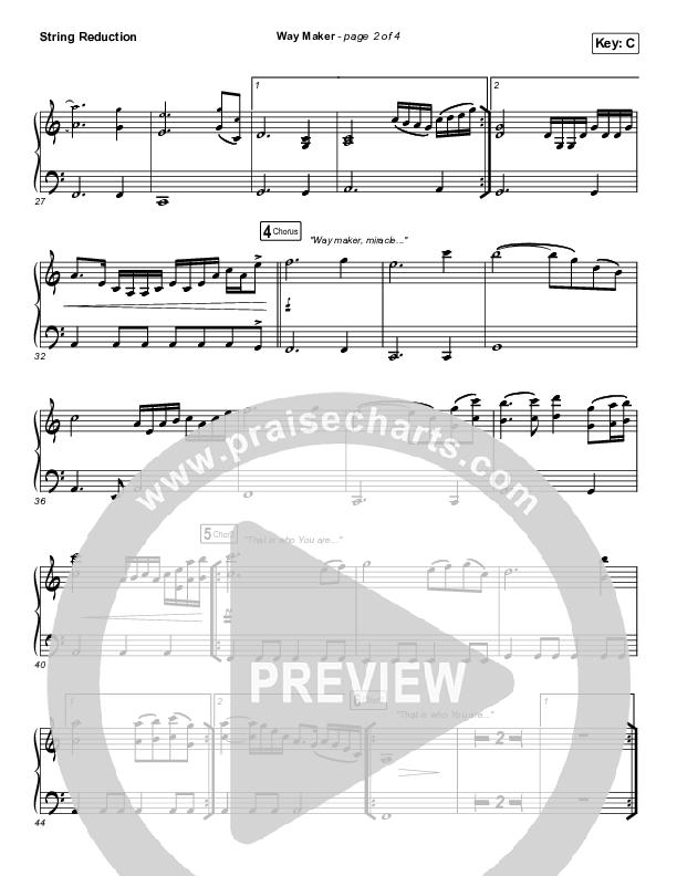 Way Maker (Live At Bethel) String Pack (Paul McClure / Hannah McClure / The McClures)