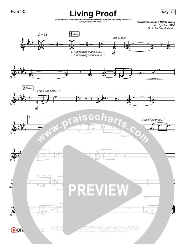 Living Proof Brass Pack (David & Nicole Binion / Steffany Gretzinger)