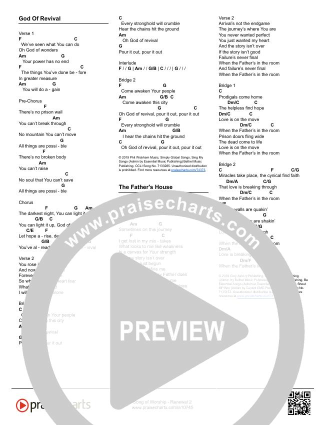Renewal 2 (24 Songs) Song Sheet (Song Sheets)