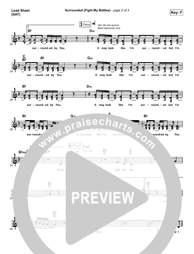 Surrounded (Fight My Battles) Light Orchestration (Bethel Music / Kari Jobe)