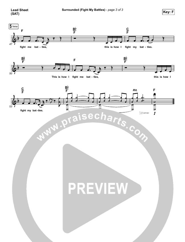 Surrounded (Fight My Battles) Piano/Vocal Pack (Bethel Music / Kari Jobe)