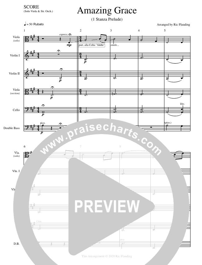 Amazing Grace (Instrumental) String Ensemble (Ric Flauding)