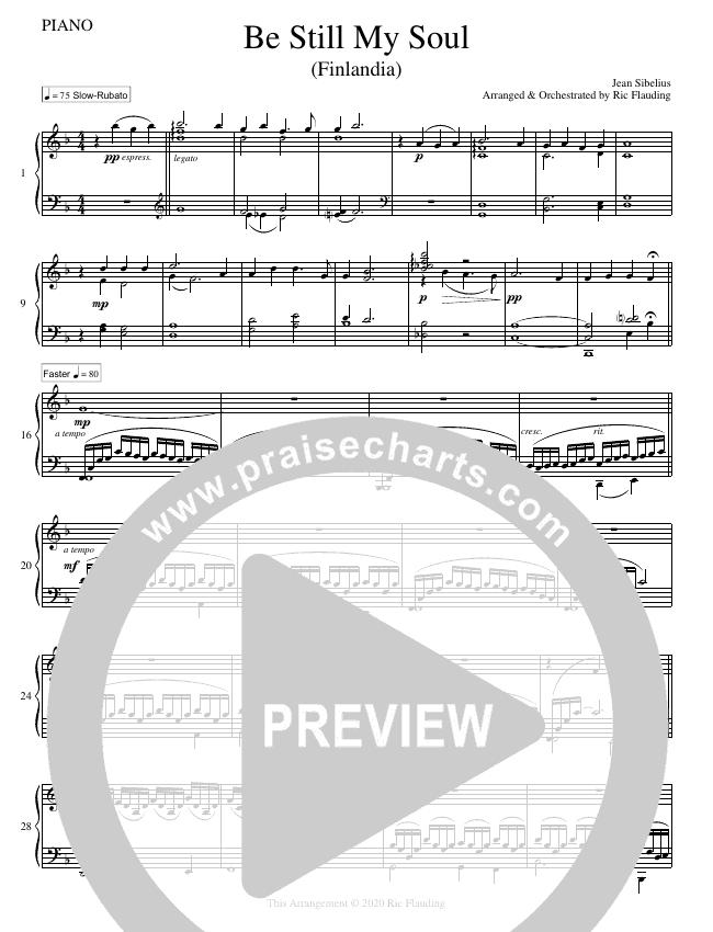 Be Still My Soul (Instrumental) String Ensemble (Ric Flauding)
