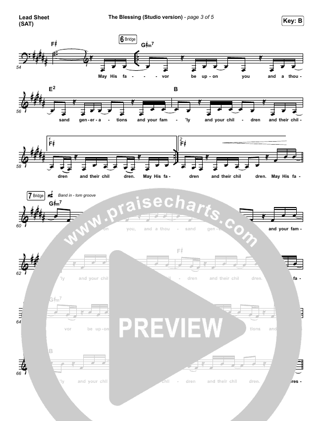The Blessing (Studio) Orchestration & Finale (Kari Jobe / Cody Carnes)