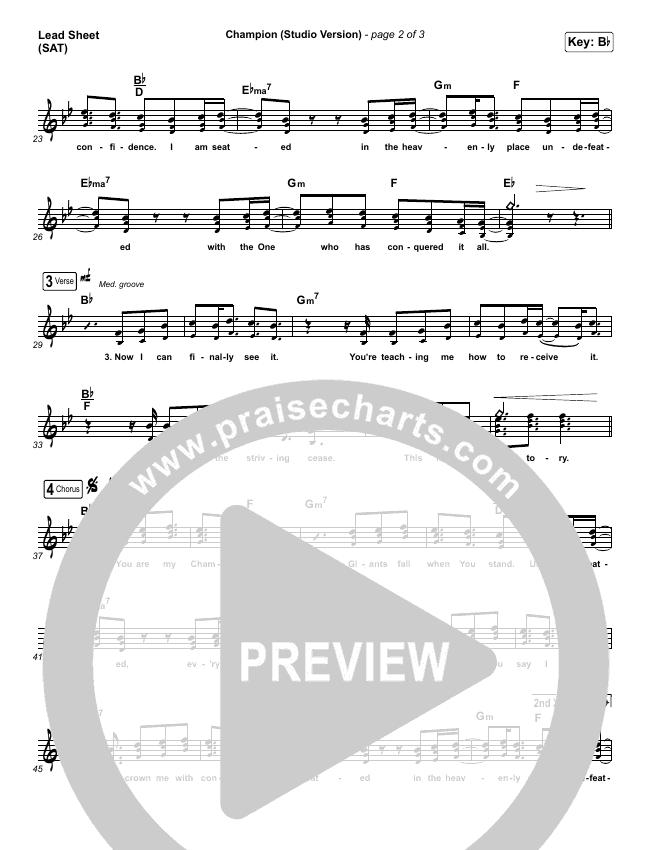 Champion (Studio) Orchestration & Finale (Dante Bowe)