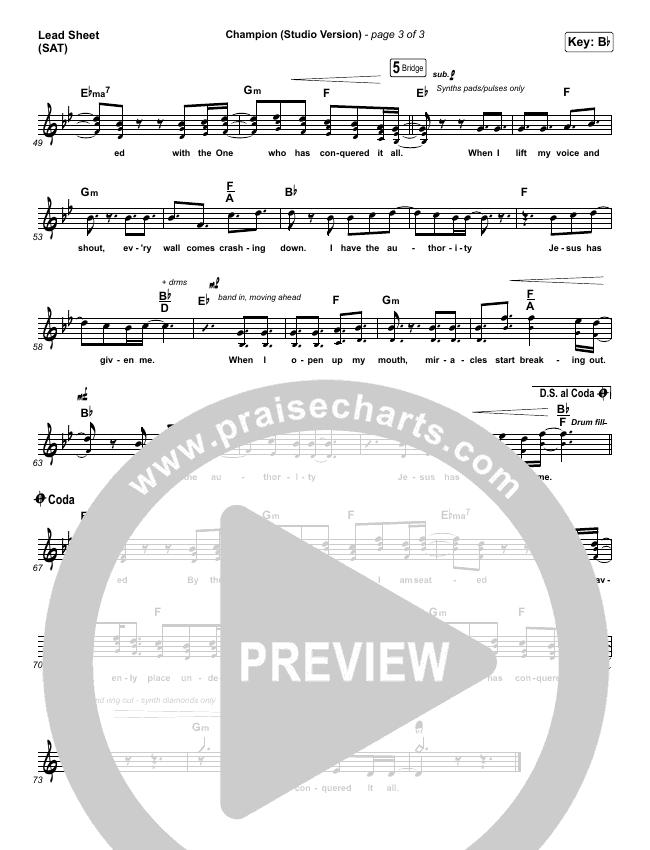 Champion (Studio) Lead & Piano/Vocal (Dante Bowe)