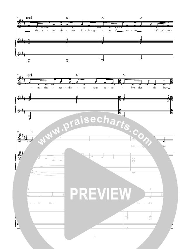 Rey de Reyes (King Of Kings) Piano/Vocal (Hillsong en Espanol / Hillsong Worship)