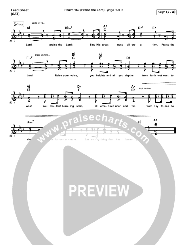 Psalm 150 (Praise The Lord) Orchestration (with Vocals) (Matt Boswell / Matt Papa / Keith & Kristyn Getty)