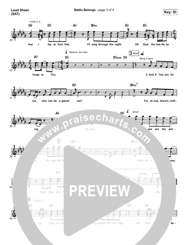 Battle Belongs Orchestration & Finale (Phil Wickham)