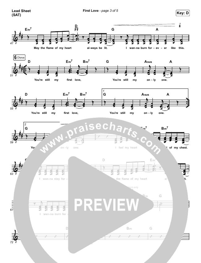 First Love (Live) Orchestration & Finale (Kari Jobe)