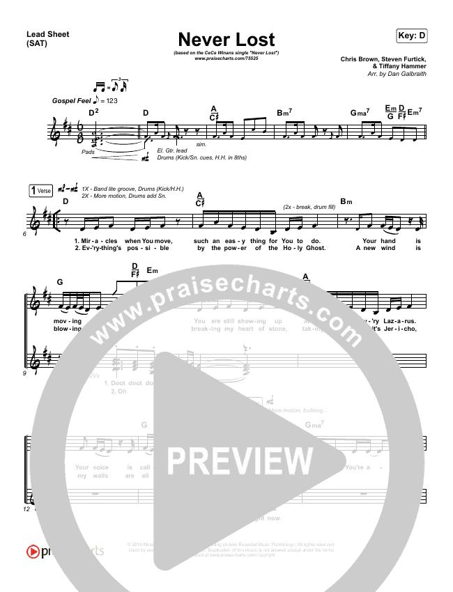Never Lost (Radio) Orchestration & Finale (CeCe Winans)