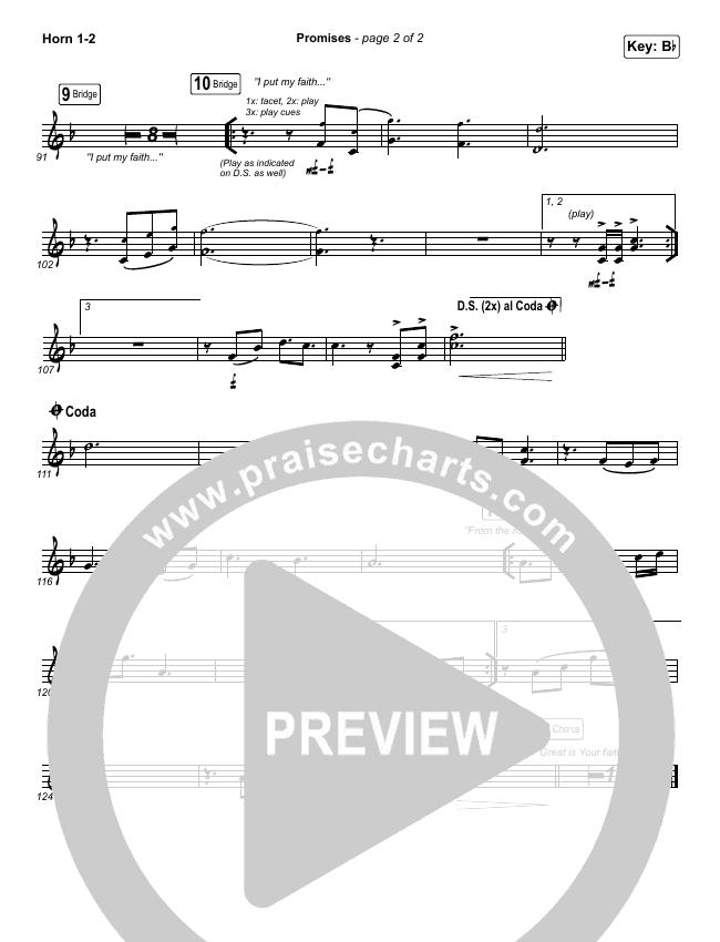 Promises Brass Pack (Maverick City Music)