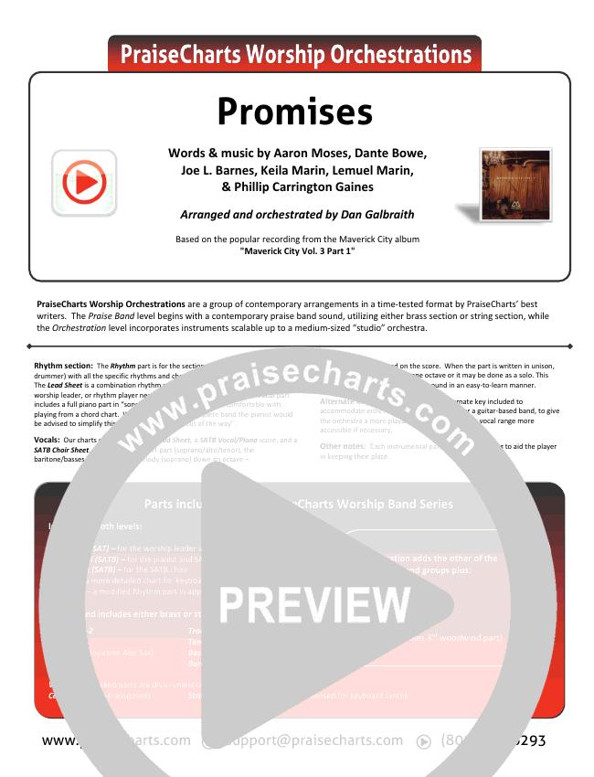 Promises Orchestration & Finale (Maverick City Music)