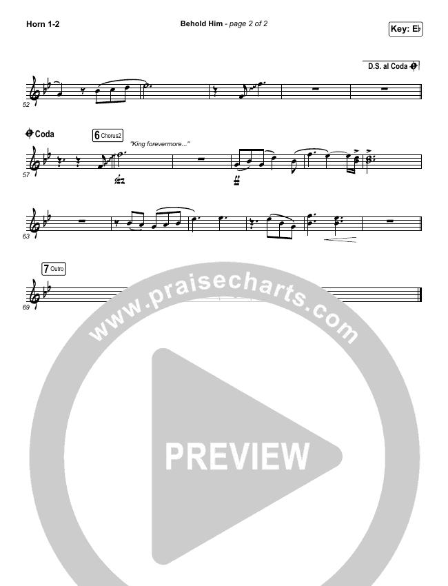 Behold Him Brass Pack (Francesca Battistelli)