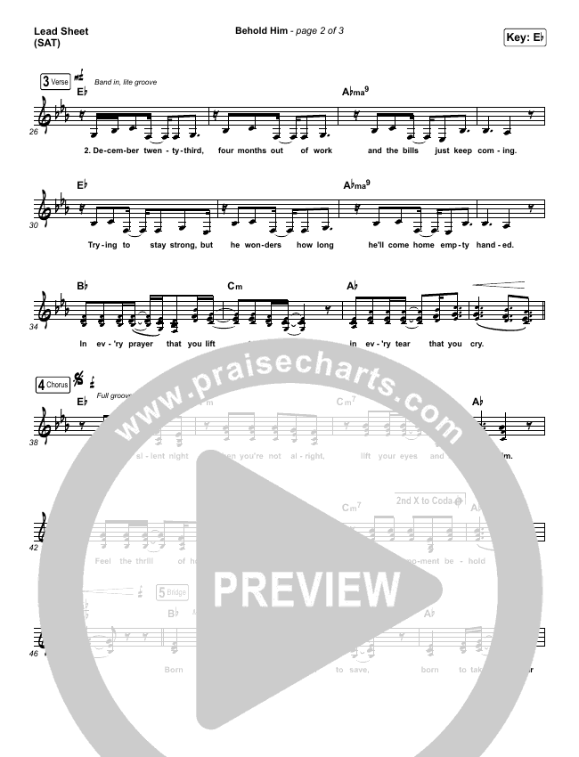 Behold Him Orchestration & Finale (Francesca Battistelli)