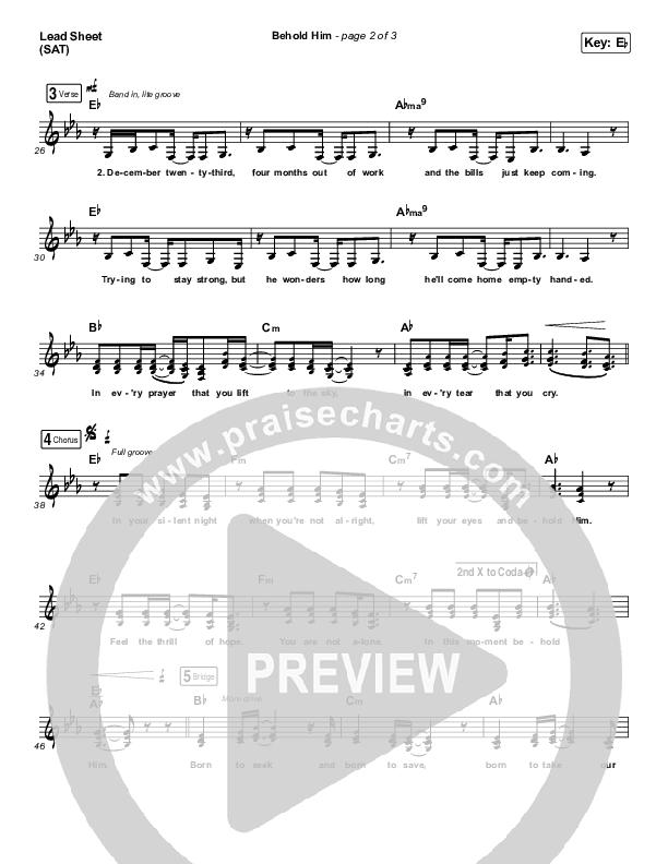 Behold Him Orchestration (Francesca Battistelli)