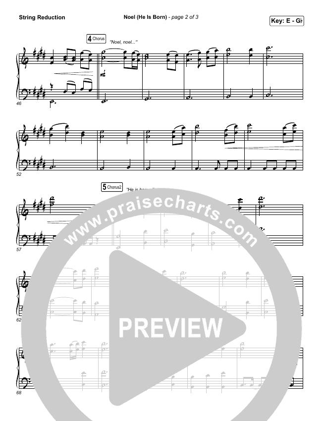 Noel (He Is Born) String Pack (Tommee Profitt / Stanaj)