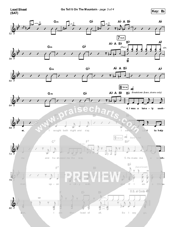 Go Tell It On The Mountain Orchestration (Zach Williams)