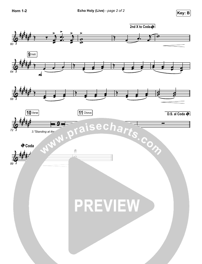 Echo Holy Brass Pack (Red Rocks Worship)