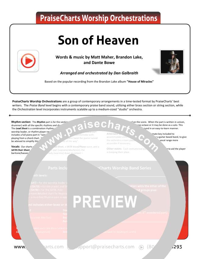Son Of Heaven (Live) Orchestration & Finale (Brandon Lake / Matt Maher / Dante Bowe)