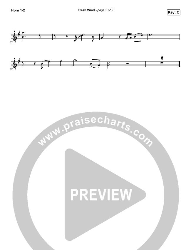 Fresh Wind Brass Pack (Hillsong Worship)