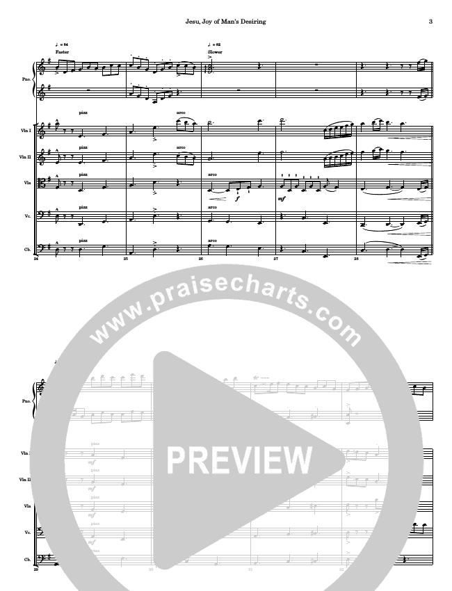 Jesu Joy Of Mans Desiring String Ensemble (Ric Flauding)