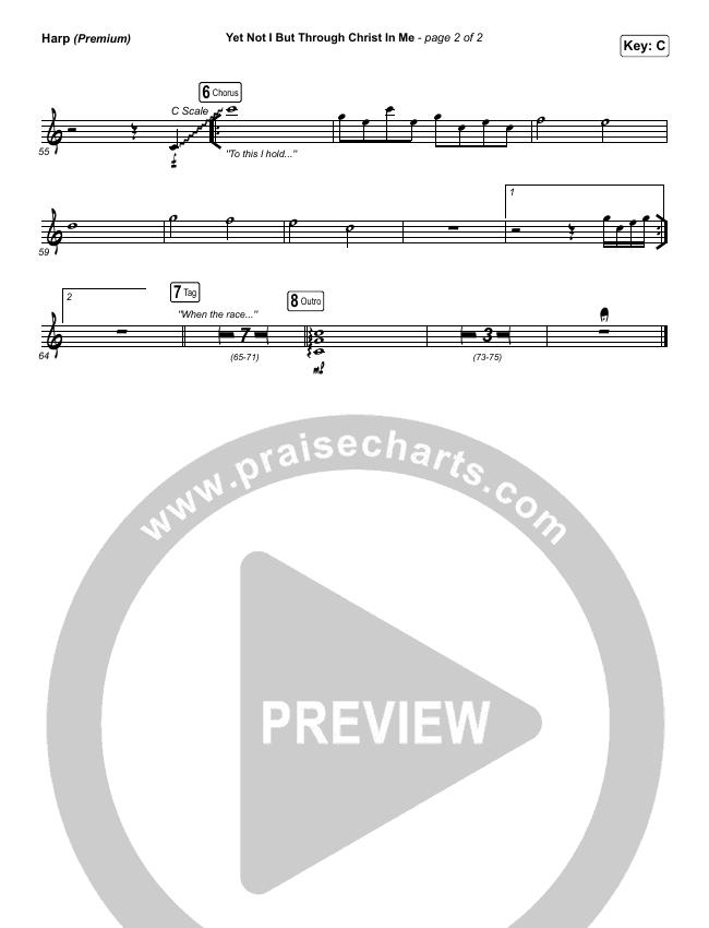 Yet Not I But Through Christ In Me (Premium) Orchestration & Finale (CityAlight / Arr. Cliff Duren)