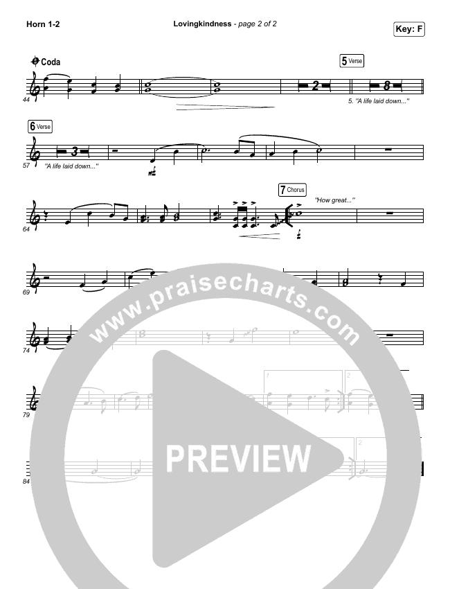 Lovingkindness Brass Pack (Keith & Kristyn Getty / Matt Redman / Matt Boswell / Matt Papa)