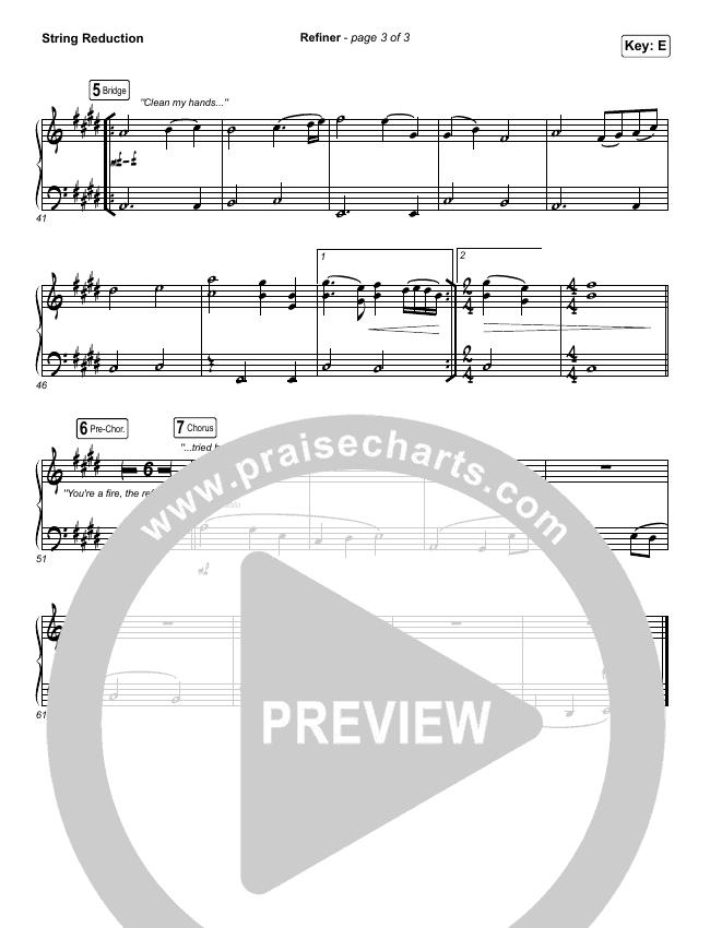 Refiner String Pack (Maverick City Music / Steffany Gretzinger)