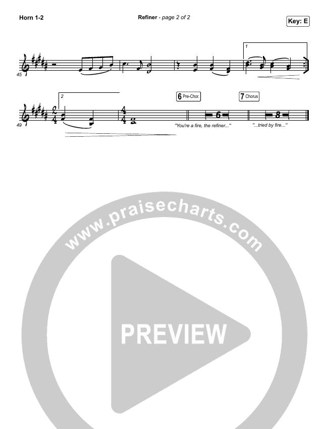 Refiner Brass Pack (Maverick City Music / Steffany Gretzinger)