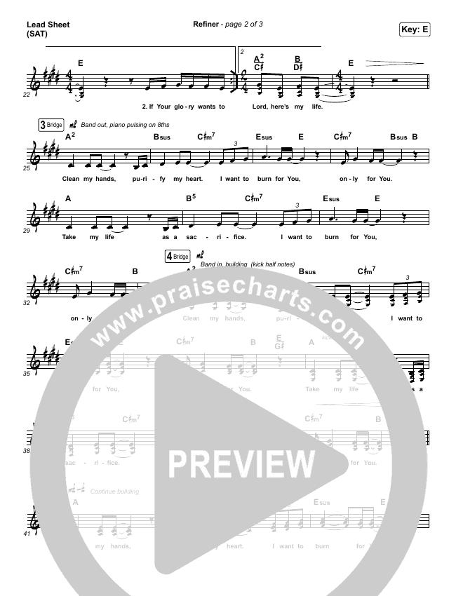 Refiner Lead & Piano/Vocal (Maverick City Music / Steffany Gretzinger)
