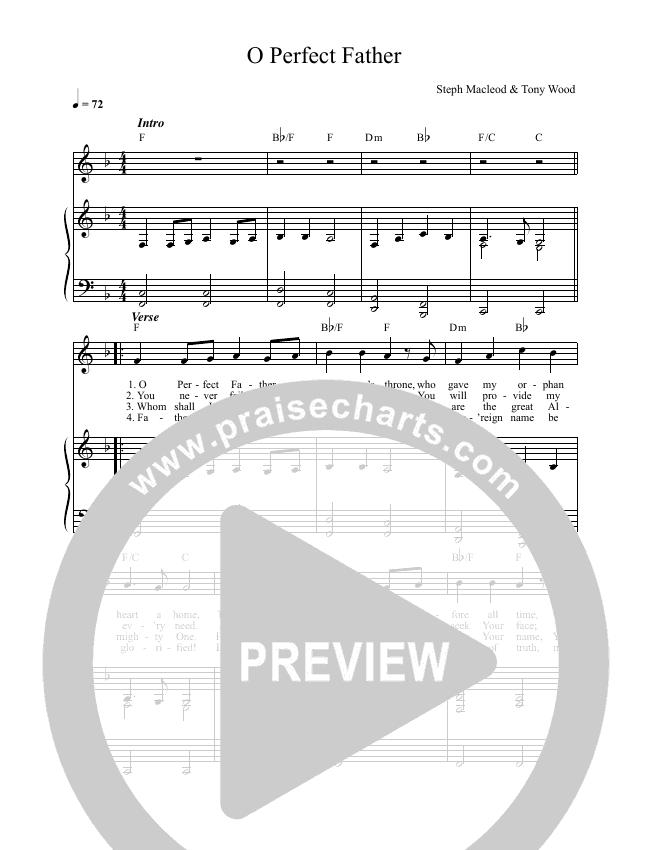 O Perfect Father Lead & Piano (Steph Macleod)