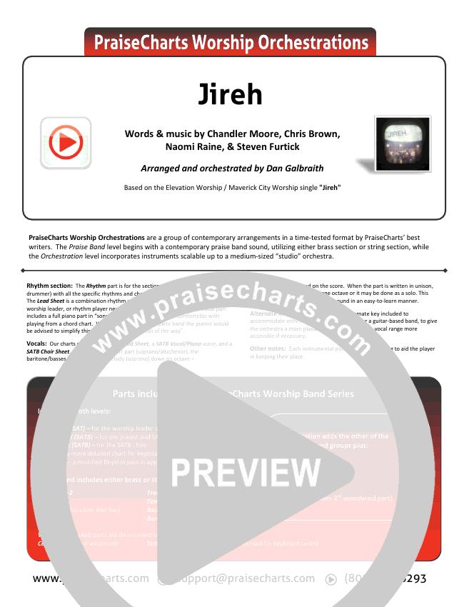 Jireh Orchestration & Finale (Maverick City Music / Elevation Worship / Chandler Moore / Naomi Raine)