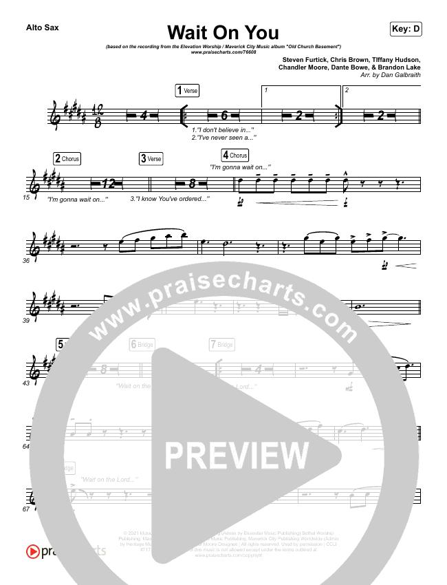 Wait On You Wind Pack (Maverick City Music / Elevation Worship / Dante Bowe / Chandler Moore)