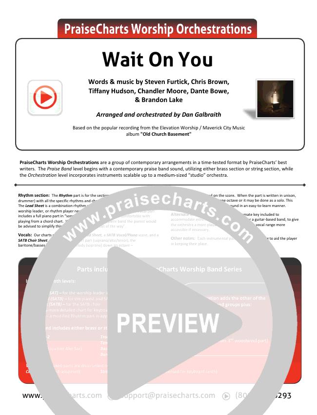 Wait On You Orchestration & Finale (Maverick City Music / Elevation Worship / Dante Bowe / Chandler Moore)