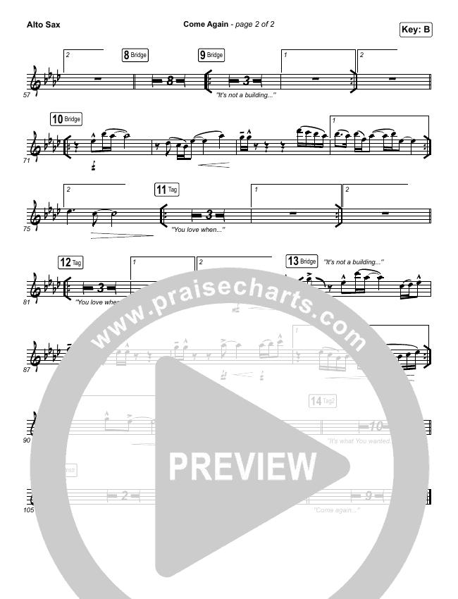 Come Again Wind Pack (Maverick City Music / Elevation Worship / Chandler Moore / Brandon Lake)