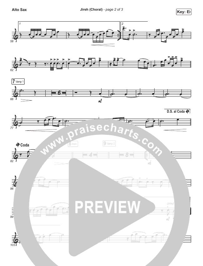 Jireh (Choral) Wind Pack (PraiseCharts Choral / Maverick City Music / Elevation Worship)
