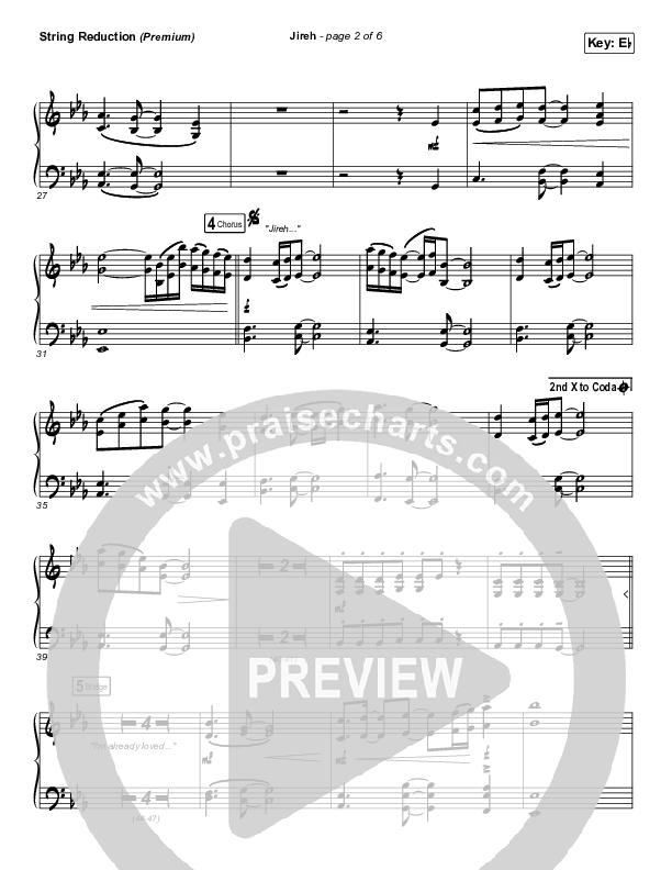 Jireh (Premium) String Pack (Elevation Worship / Maverick City Music / Chandler Moore / Naomi Raine)