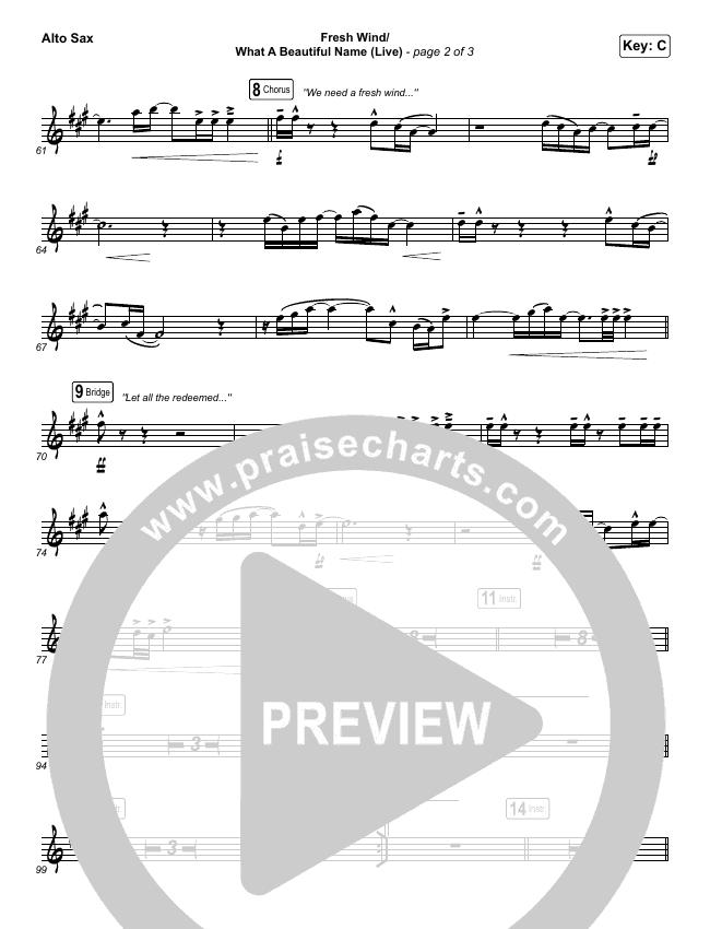Fresh Wind / What A Beautiful Name (Live) Wind Pack (Hillsong Worship)