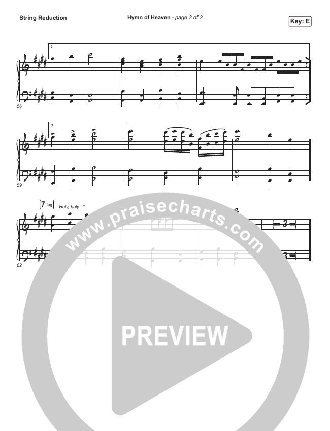 Hymn Of Heaven String Pack (Phil Wickham)