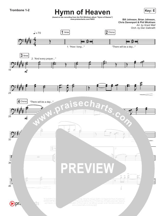 Hymn Of Heaven Brass Pack (Phil Wickham)