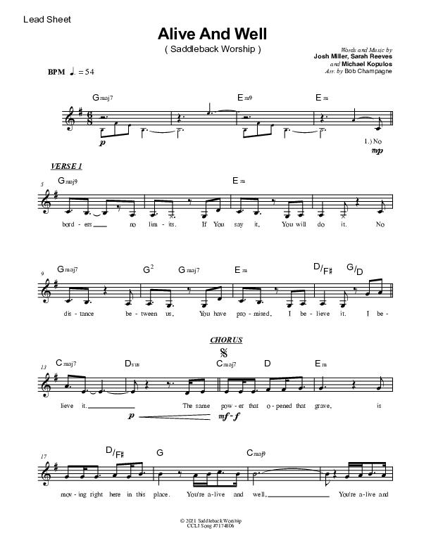 Broken Things Chords & Lyrics (Matthew West)