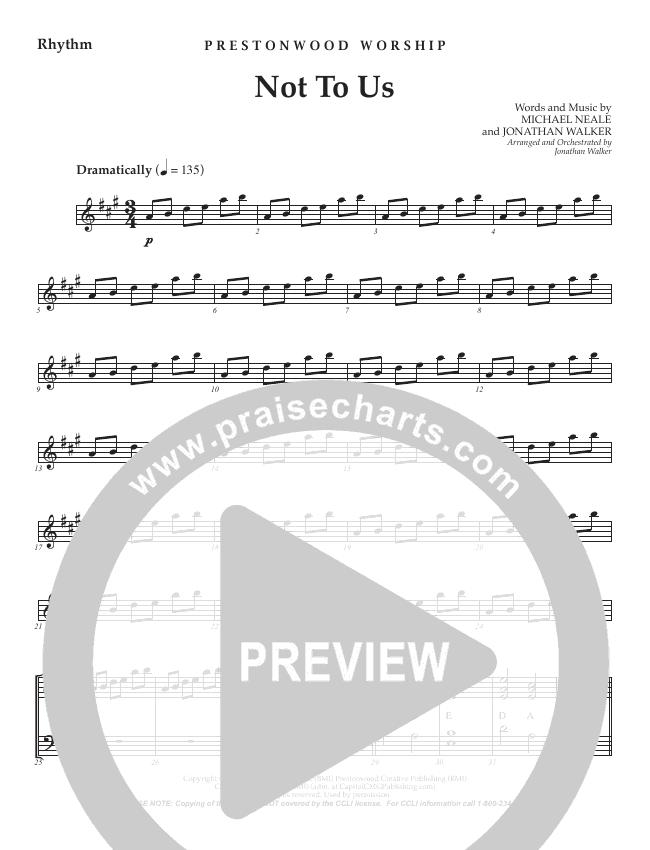 Not To Us (Choral Anthem) Orchestration (No Vocals) (Prestonwood Choir / Arr. Jonathan Walker)