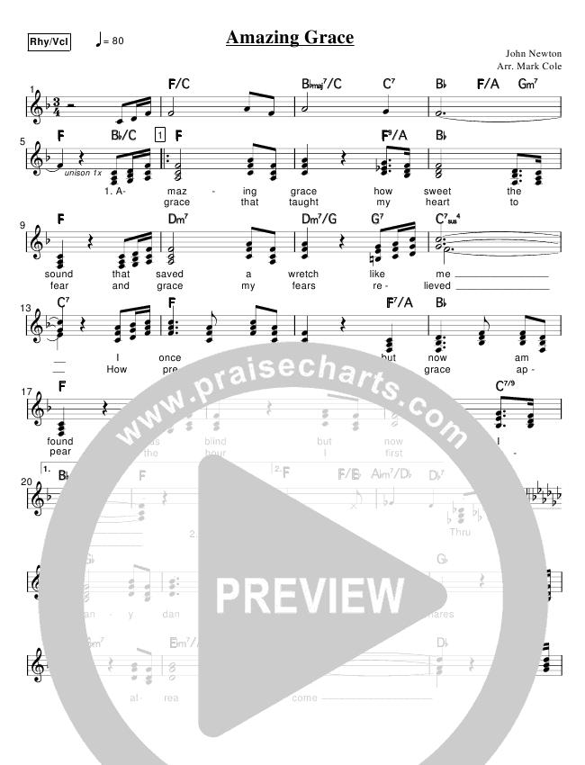 Amazing Grace Praise Band (Mark Cole)