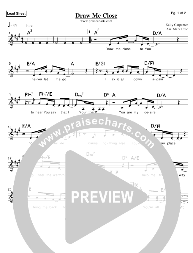 Draw Me Close Praise Band (Kelly Carpenter)